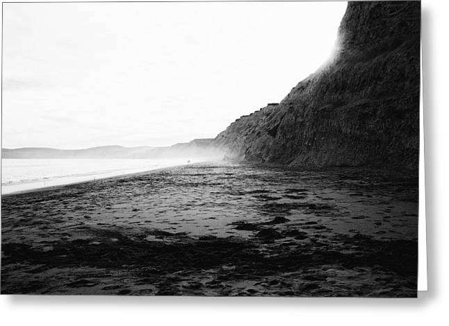Northern California Landscapes Greeting Cards - Seashore Fog - Northern California Greeting Card by Sebastien Gabriel