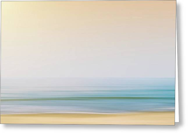 Warmth Greeting Cards - Seashore Greeting Card by Wim Lanclus