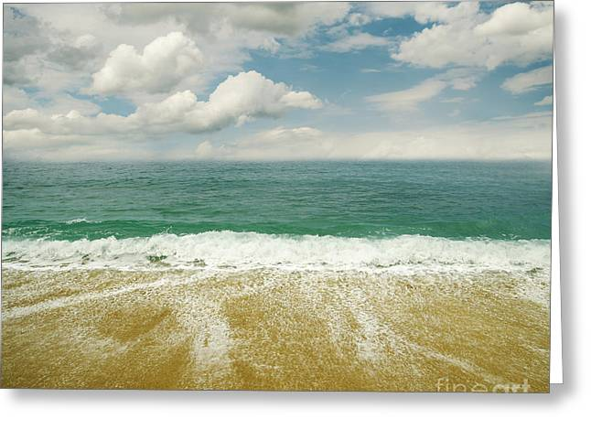 Seaside Greeting Card by Jelena Jovanovic