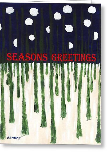 Seasons Greetings 2 Greeting Card by Patrick J Murphy