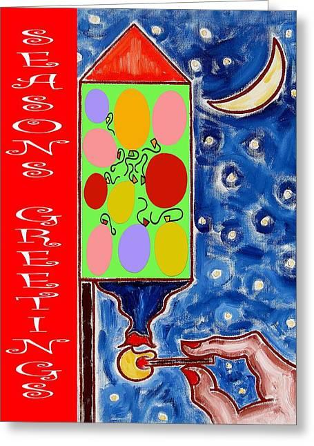 Seasons Greetings 60 Greeting Card by Patrick J Murphy