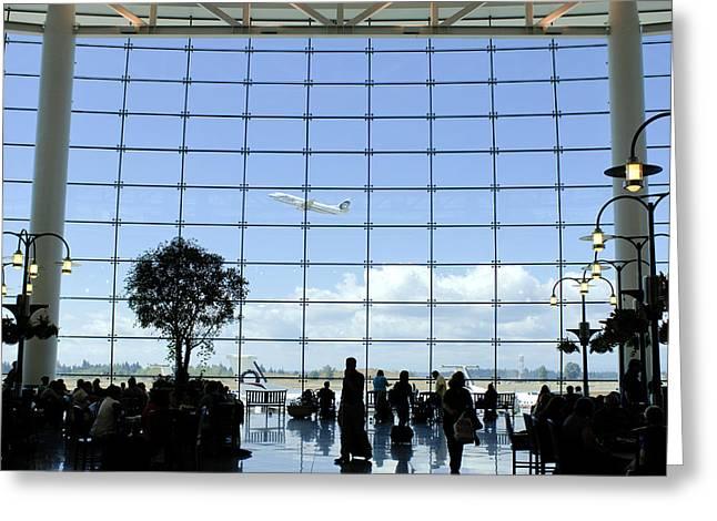 Seatac Airport K088 Greeting Card by Yoshiki Nakamura