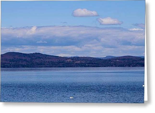 Maine Spring Greeting Cards - Spring on Sebago Greeting Card by Colleen Mars