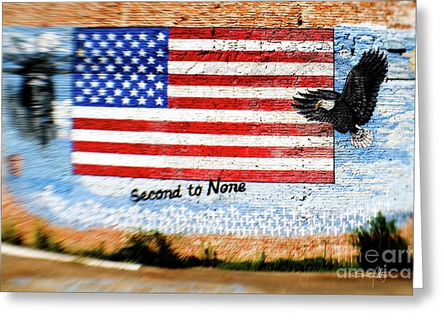 North Louisiana Greeting Cards - Second to None Greeting Card by Scott Pellegrin