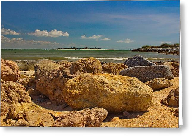 Ocean Art Photos Greeting Cards - Secret Beach Greeting Card by Brian Hamilton