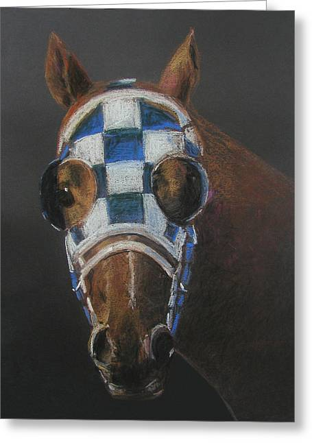 Belmont Stakes Greeting Cards - Secretariat - Jewel of the 1973 Triple Crown Greeting Card by Arline Wagner
