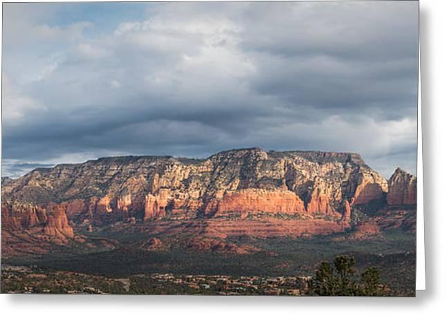 Sedona Arizona Greeting Card by Joseph Smith