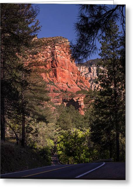 Hdr Landscape Greeting Cards - Sedona AZ-89A Greeting Card by Ed  Cheremet
