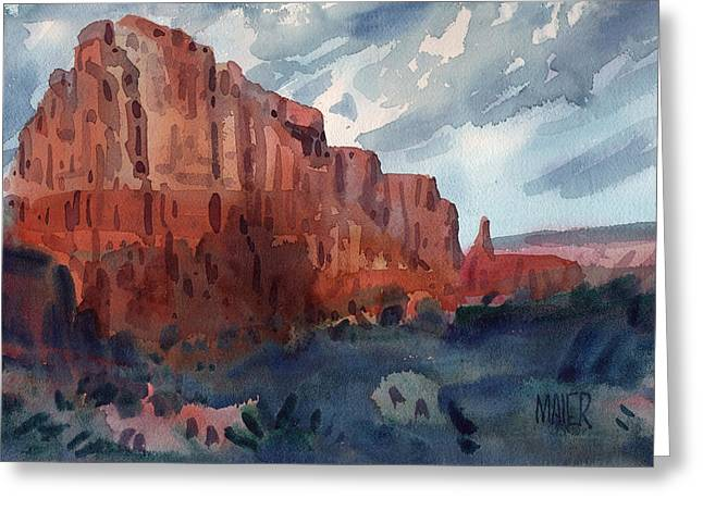 Sedona Redrock Greeting Card by Donald Maier