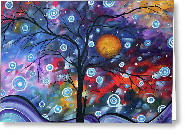 Crimson Greeting Cards - See the Beauty Greeting Card by Megan Duncanson