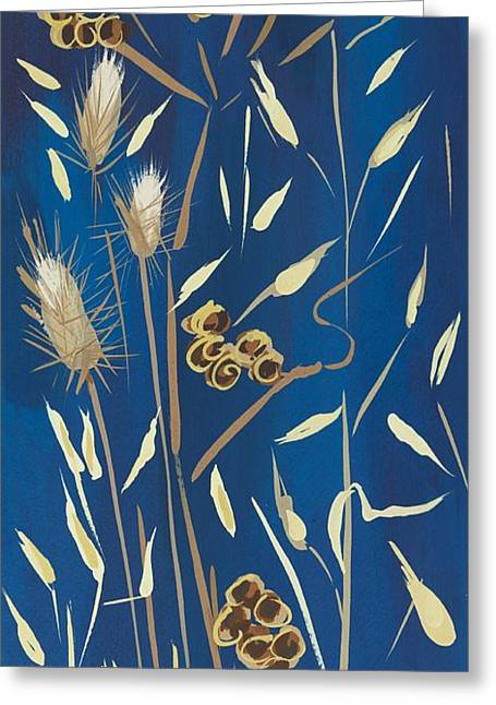 Samsung Greeting Cards - Seed Pods and Grasses Greeting Card by Sarah Gillard