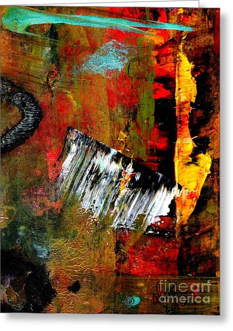 Survivor Art Greeting Cards - Seeing THE LIGHT at The End Greeting Card by Angela L Walker
