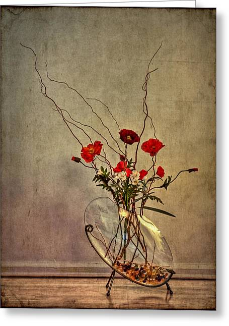 Flowers Photographs Greeting Cards - Seeking Harmony Greeting Card by Evelina Kremsdorf