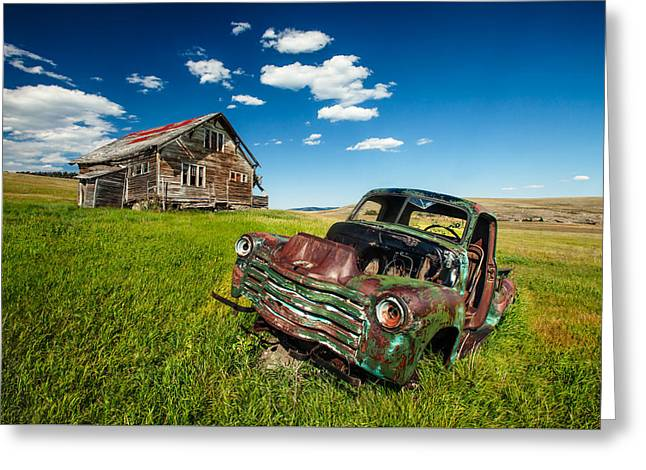 Seen Better Days Greeting Card by Todd Klassy