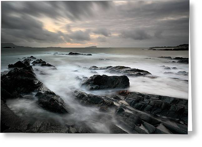 Bute Greeting Cards - Seil Island Greeting Card by Grant Glendinning