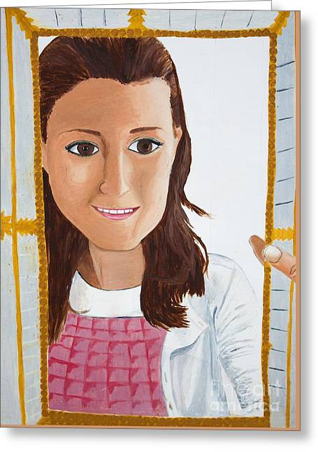 Self Portrait Greeting Card by Doc Braham