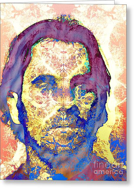Self-portrait Greeting Cards - Self Portrait Greeting Card by Robert Ball
