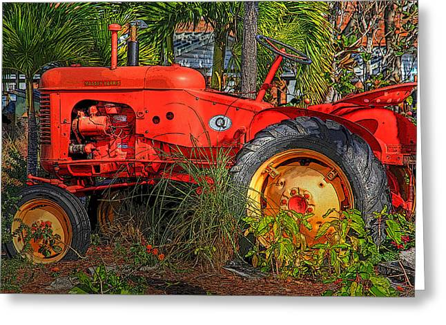 Semi Retired Greeting Card by HH Photography