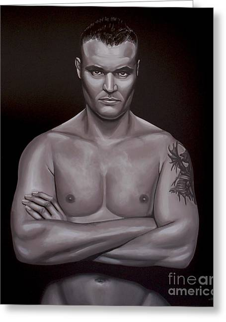 Semmy Schilt Greeting Card by Paul Meijering