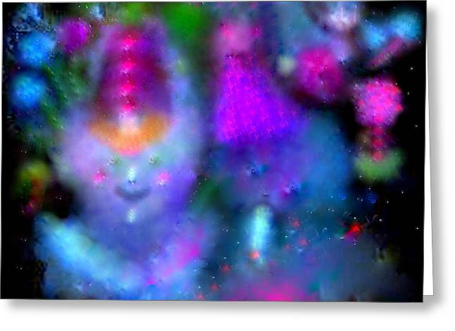 Greeting Cards - Send In The Clowns Greeting Card by Sherri  Of Palm Springs