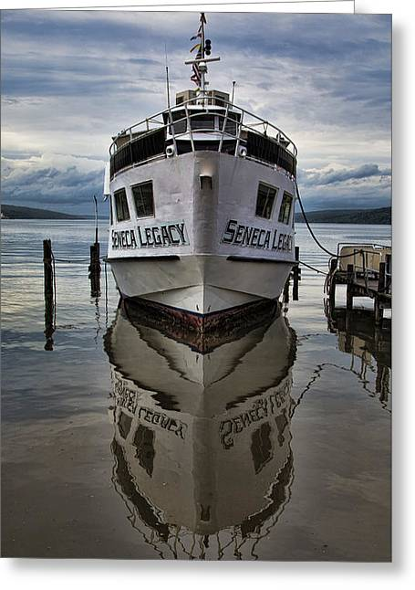 Finger Lakes Region Greeting Cards - Seneca Legacy Greeting Card by Stephen Stookey