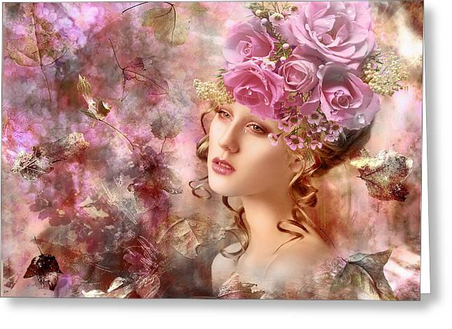 """""""photo Manipulation"""" Photographs Greeting Cards - Sentimentality Greeting Card by Nataliorion"""