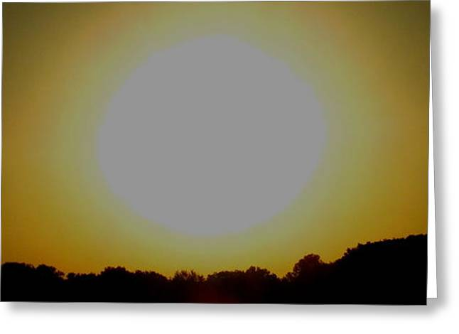 Light And Dark Greeting Cards - September Sunrise Greeting Card by Joshua Bales