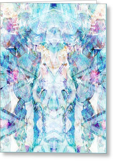 Pale Form Greeting Cards - Serendipity Greeting Card by Beth Travers