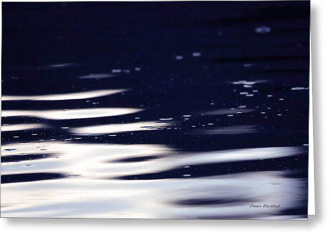 Reflection On Calm Pond Greeting Cards - Serenity Greeting Card by Donna Blackhall