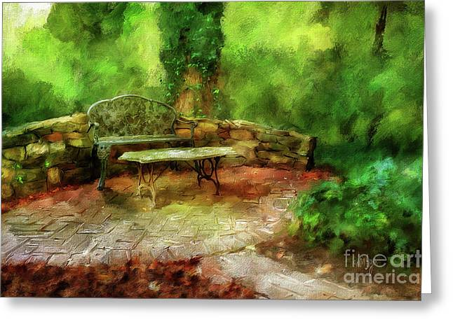 Serenity Greeting Card by Lois Bryan
