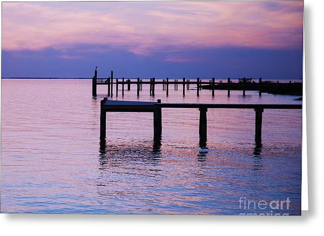 Sunset Framed Prints Greeting Cards - Serenity On Deal Island. Greeting Card by Marcus Dagan