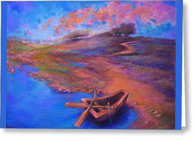 Award Winning Pastels Greeting Cards - Serenity Greeting Card by Paul Birchak