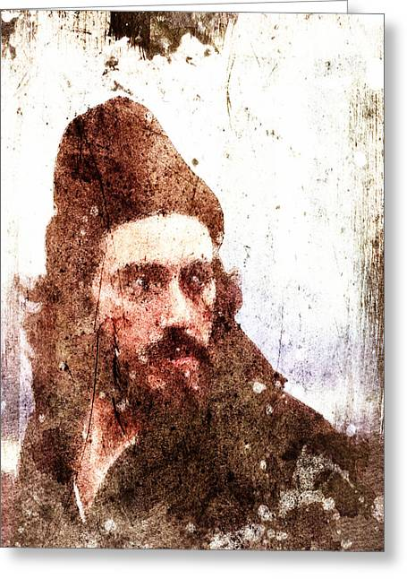 Bribery Greeting Cards - Serpico Greeting Card by Andrea Barbieri