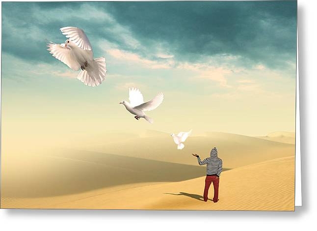 Spa Wall Decor Greeting Cards - Set Me Free Again  Greeting Card by Mark Ashkenazi