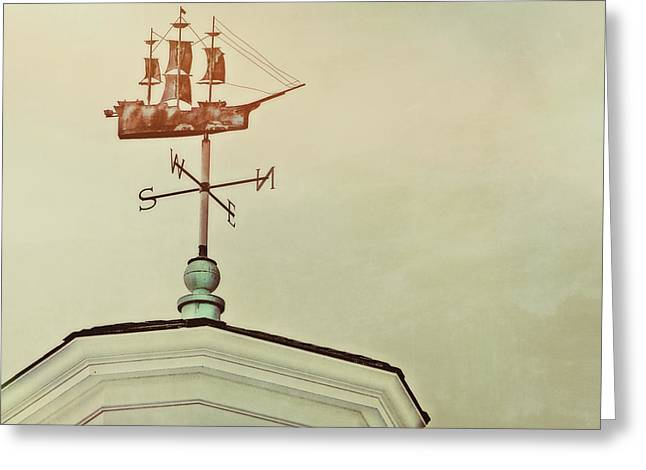 Best Sellers -  - Weathervane Greeting Cards - Setting Sail Greeting Card by JAMART Photography