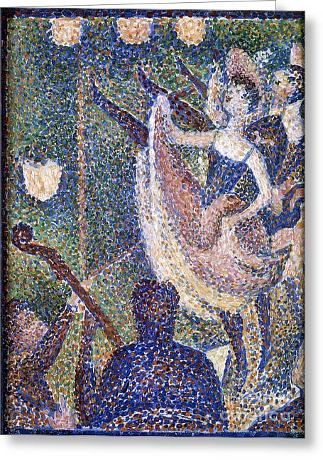 Seurat Greeting Cards - Seurat: Chahut Study, 1889 Greeting Card by Granger