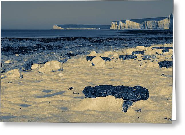 Mchugh Greeting Cards - Seven Sisters Greeting Card by Malc McHugh