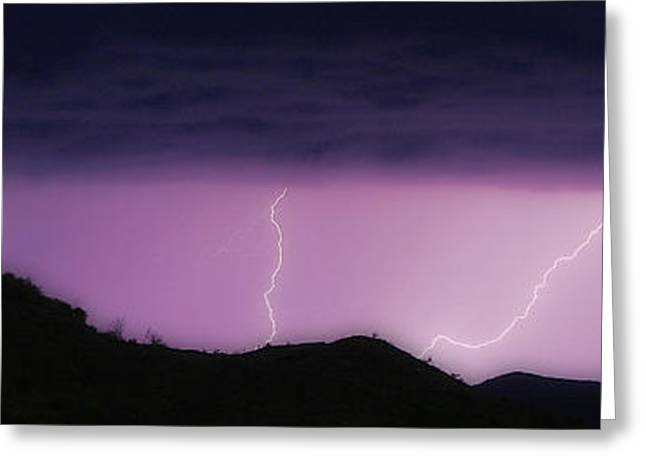 Images Lightning Greeting Cards - Seven Springs Alien Nation Greeting Card by James BO  Insogna