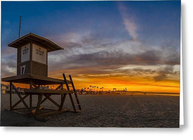 Beachscape Greeting Cards - Seventeen Youre Clear for Takeoff Greeting Card by Sean Foster