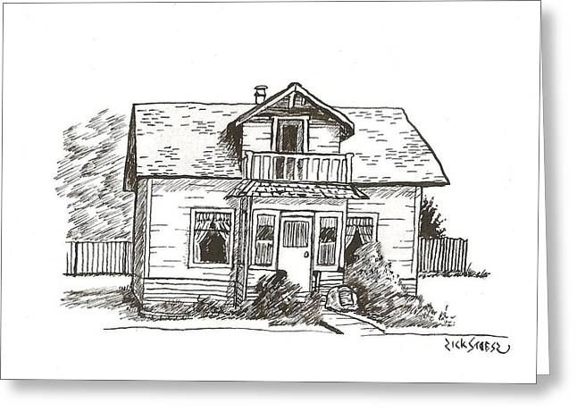 Sexsmith House Greeting Card by Rick Stoesz