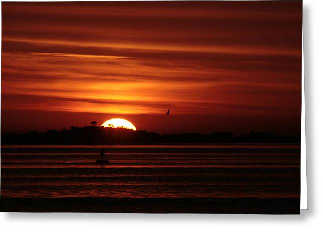 Long Island Photographs Greeting Cards - Sexton Island Sunrise Greeting Card by Christopher Kirby