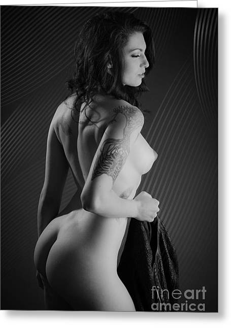 Sexy Side Greeting Card by Jt PhotoDesign