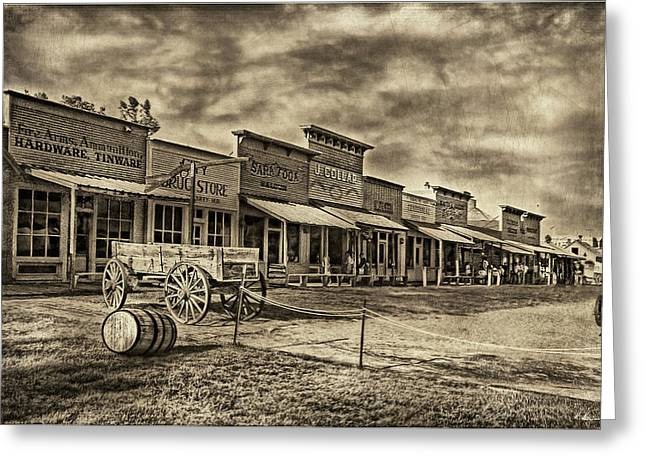 Westen Greeting Cards - Shades of Wild West Greeting Card by Hanny Heim