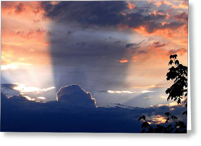 Rare Sunset Greeting Cards - Shadows In The Sky Greeting Card by Will Borden