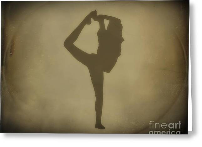 Dance Of Joy Greeting Cards - Shadows of Dance Greeting Card by Randy Steele