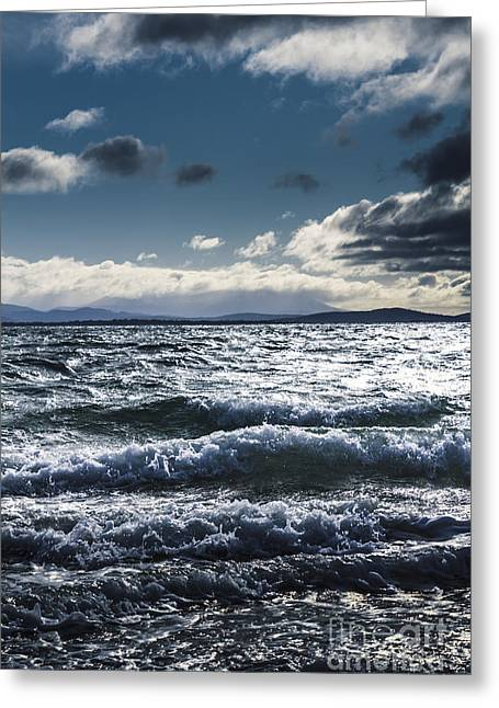 Shallows And Depths Of Adventure Bay Greeting Card by Jorgo Photography - Wall Art Gallery