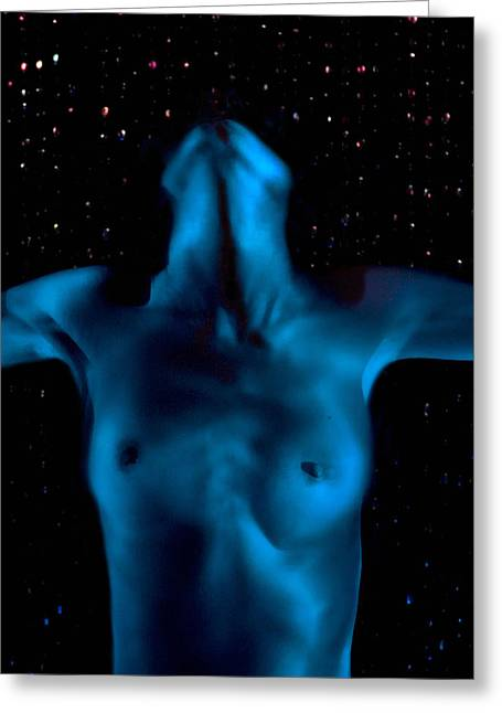 Female Body Greeting Cards - Shapes 4 Greeting Card by Sergio Bondioni