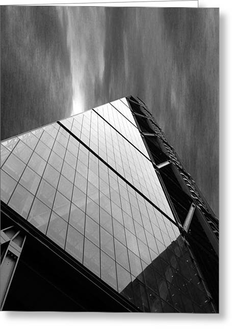 Height Greeting Cards - Sharp Angles Greeting Card by Martin Newman