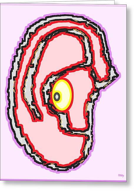 Tablets Greeting Cards - Sharp Eye Greeting Card by Patrick J Murphy