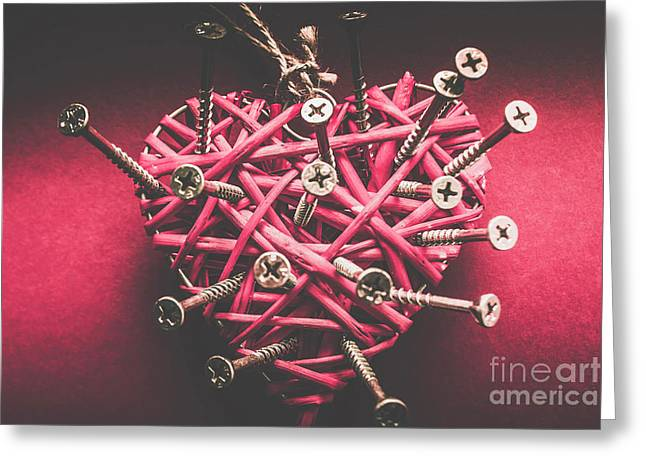 Sharp Pains Of Heartbreak Greeting Card by Jorgo Photography - Wall Art Gallery